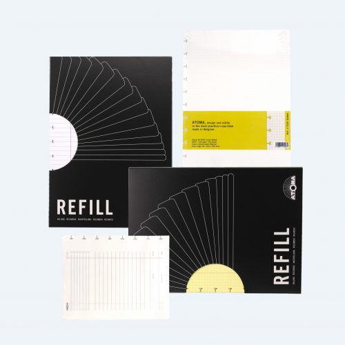 Refills for notebooks