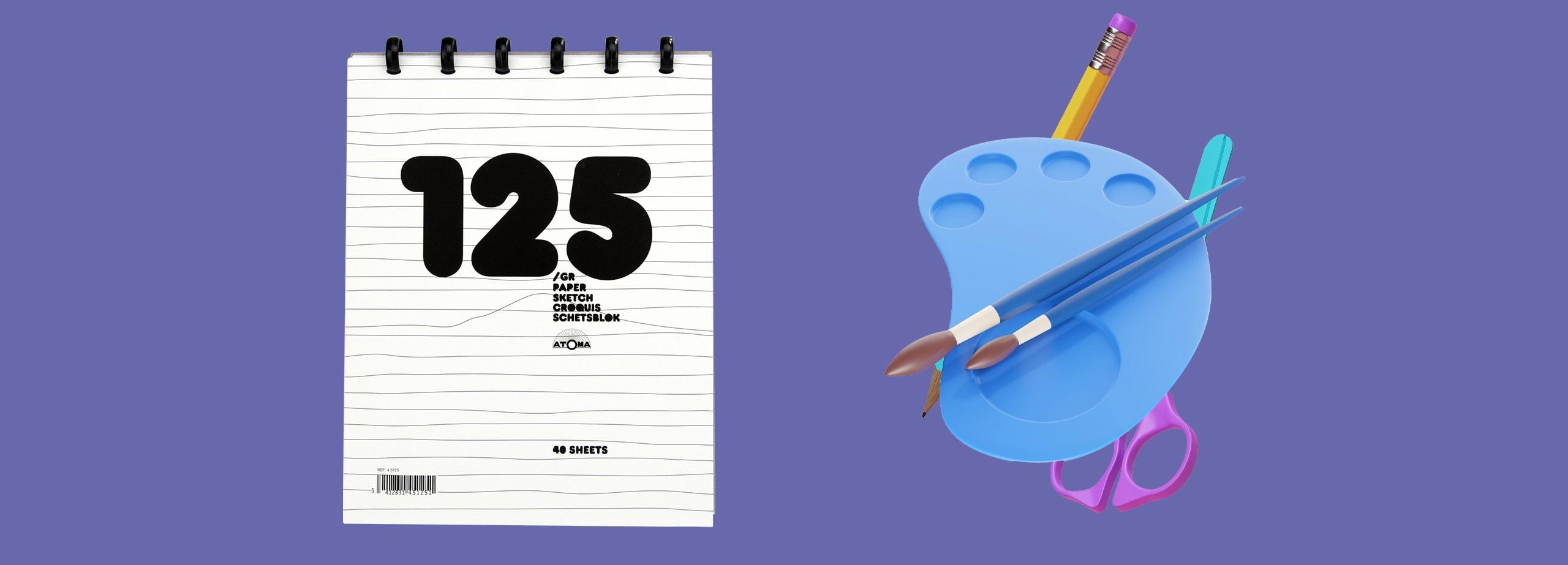Atoma - Cahier à dessin