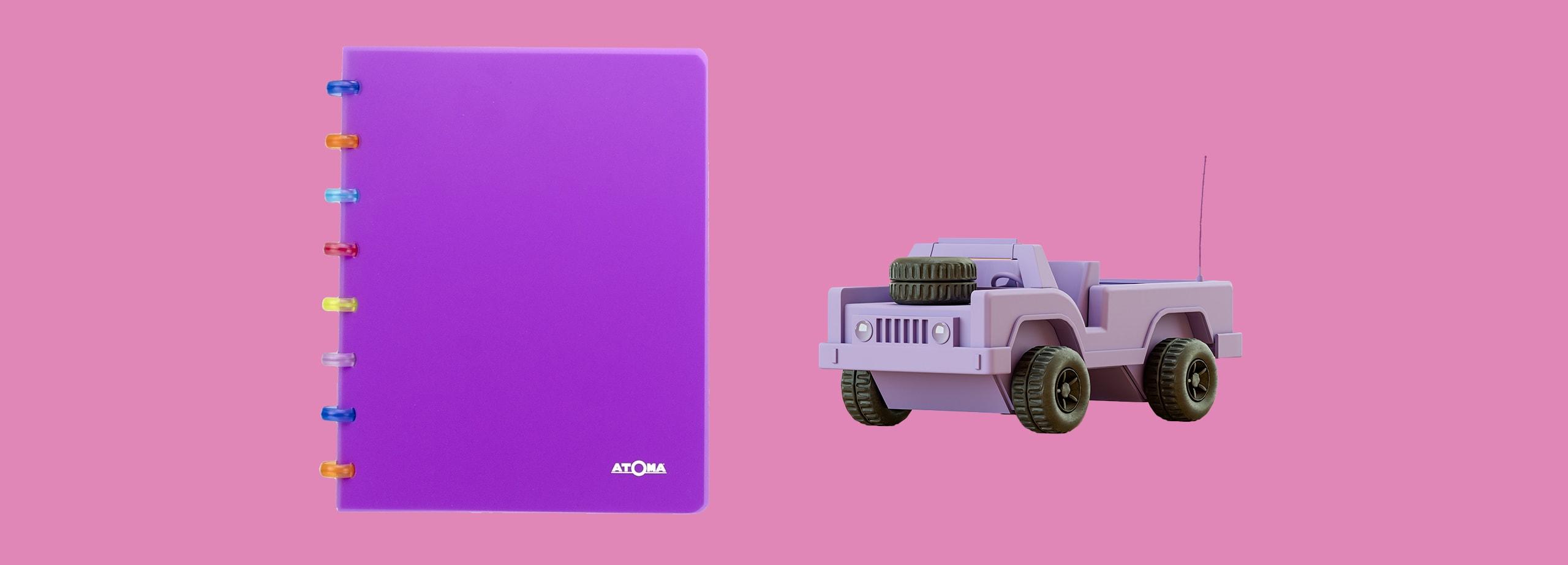 Atoma - Tutti Frutti Sleeves Book