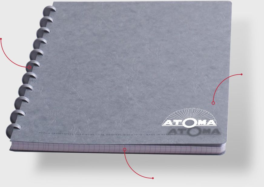 Recognize a real atoma notebook